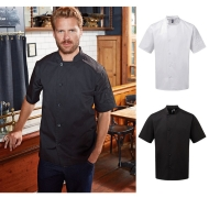 Essential Short Sleeve Chefs Jacket pw900